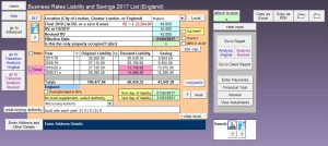 Calcurate Business Rates Software